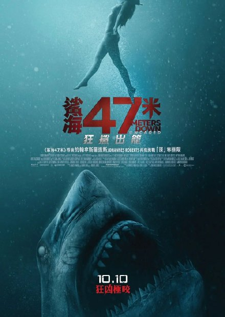 鲨海逃生 2019.HD720P 迅雷下载