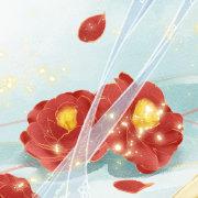 插画师飞霜 代表作《唐宫外传》《毒医弃后》繁体版封面
