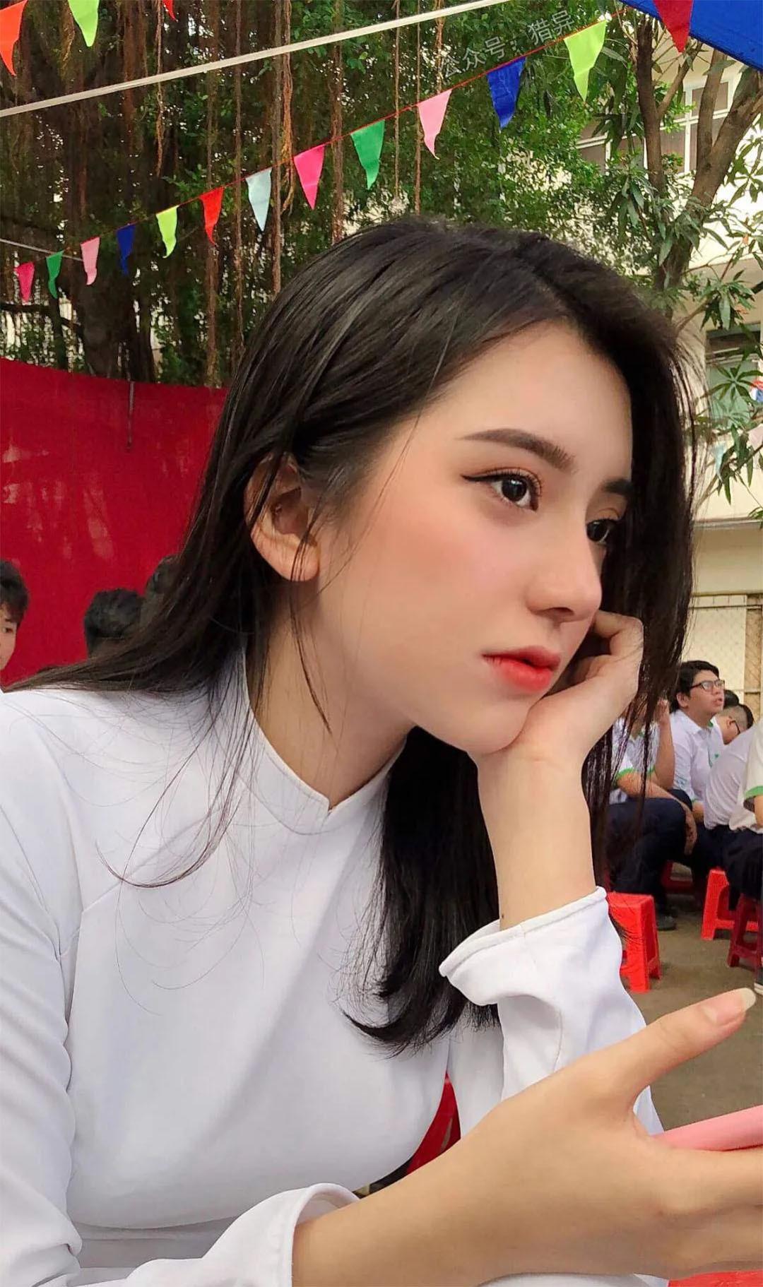 这么漂亮的越南妹子真是让人养眼