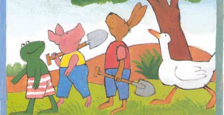 儿童中文有声故事:青蛙弗洛格的成长故事 MP3音频+中文/英文绘本PDF_图片 6