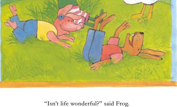 儿童中文有声故事:青蛙弗洛格的成长故事 MP3音频+中文/英文绘本PDF_图片 4