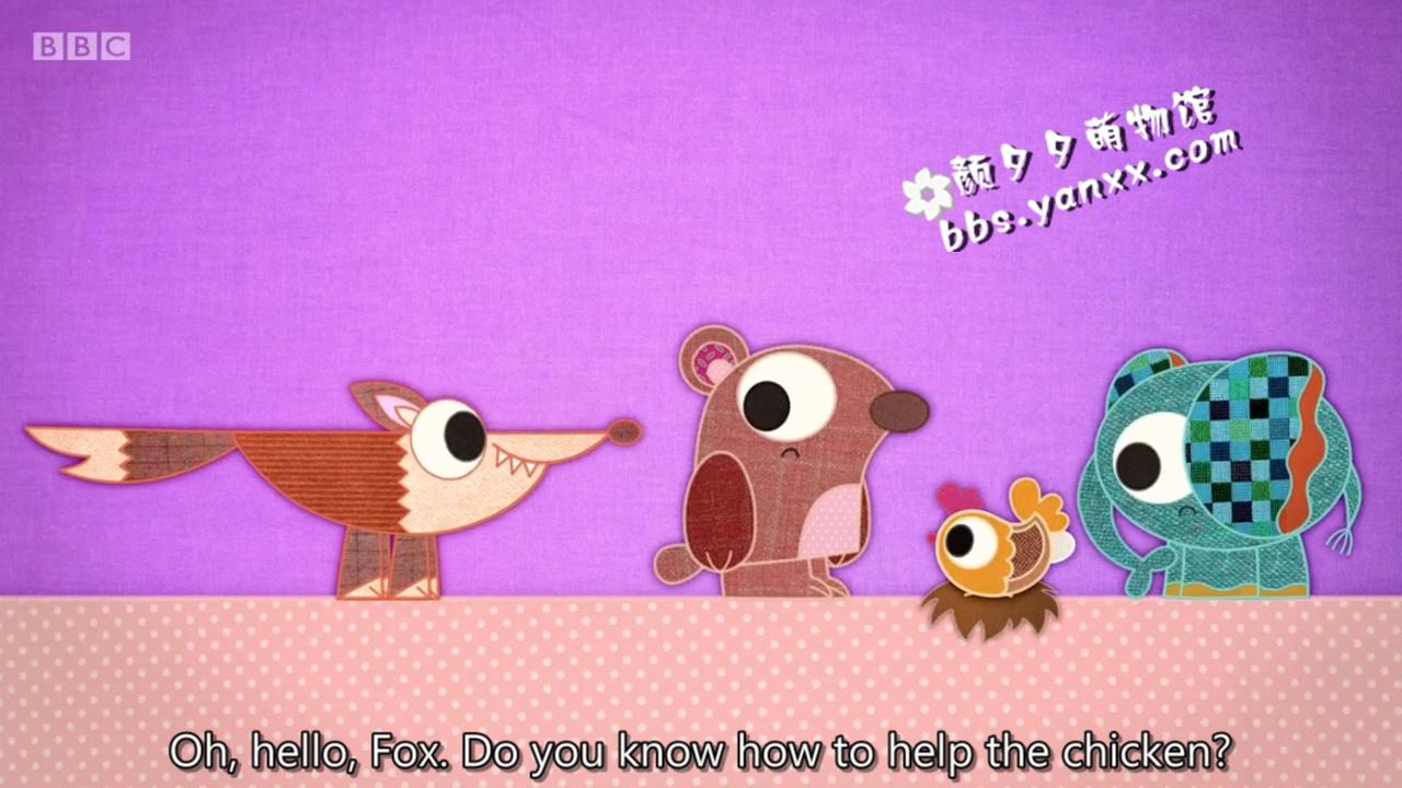 适合幼儿英语启蒙的可爱动画:布艺小伙伴 patchwork pals 带英文字幕 高清720P图片 No.3