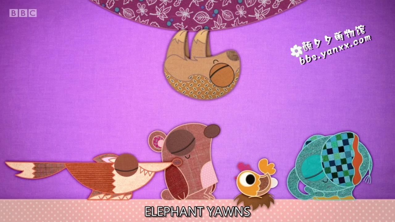 适合幼儿英语启蒙的可爱动画:布艺小伙伴 patchwork pals 带英文字幕 高清720P图片 No.4
