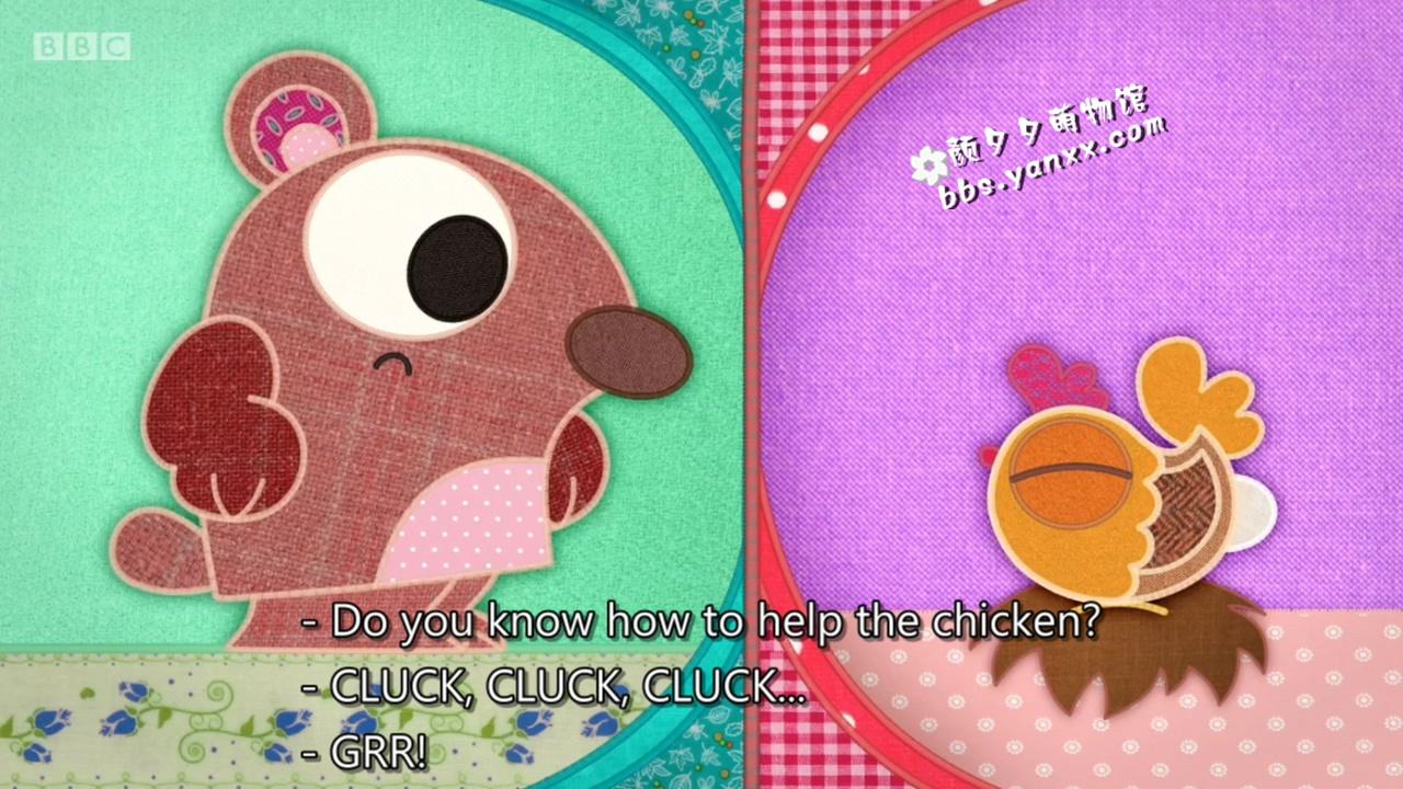 适合幼儿英语启蒙的可爱动画:布艺小伙伴 patchwork pals 带英文字幕 高清720P图片 No.2