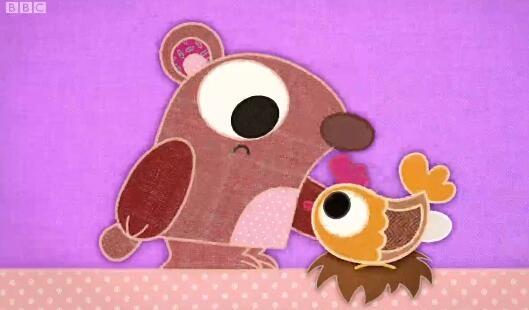 适合幼儿英语启蒙的可爱动画:布艺小伙伴 patchwork pals 带英文字幕 高清720P图片 No.1