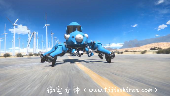 3D动画《攻壳机动队SAC 2045》时隔多年依旧是熟悉的味道!