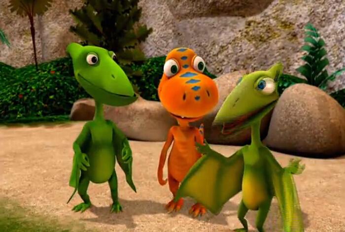 儿童动画:恐龙列车中文版 Dinosaur Train 双语可切换  5集高清百度网盘下载图片 No.2