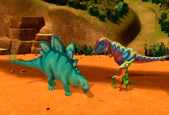 儿童动画:恐龙列车中文版 Dinosaur Train 双语可切换  5集高清百度网盘下载图片 No.3