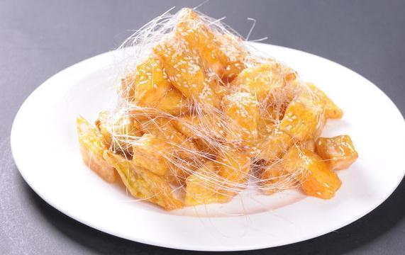 红薯不要只会蒸着吃,做成红薯糕点,天天换着花样吃