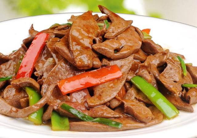 炒猪肝、熘肝尖全国最好吃的几道家常猪肝美食做法,香嫩美味