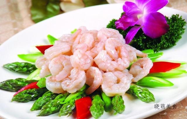 芦笋炒虾球、芦笋拌腰果、芦笋炒牛肉的做法,营养又好吃