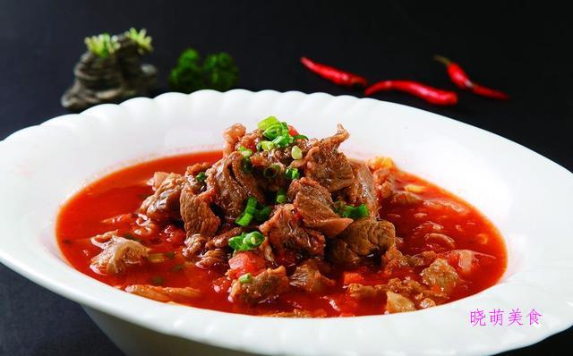 番茄牛腩、红烧牛腩的家常做法,营养下饭