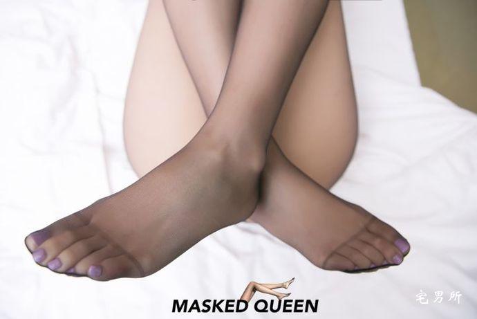 【MASKED QUEEN】黑丝美腿假面女皇No.14(丝袜类)-宅男说