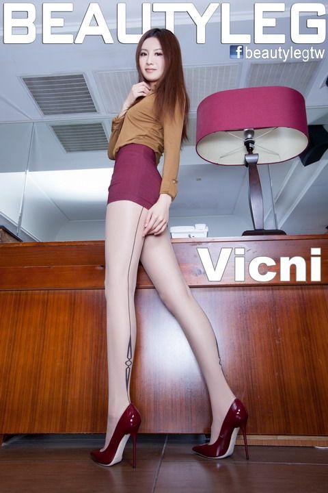 成熟OL职业装御姐范美腿丝袜Vicni妹子-宅男说