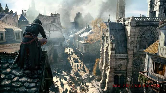 业界良心育碧推《刺客信条: 大革命》限时免费下载-宅男说