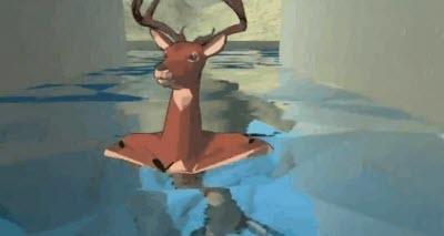 益智游戏《非常普通的鹿》 玩家体验沙雕鹿自由奔跑