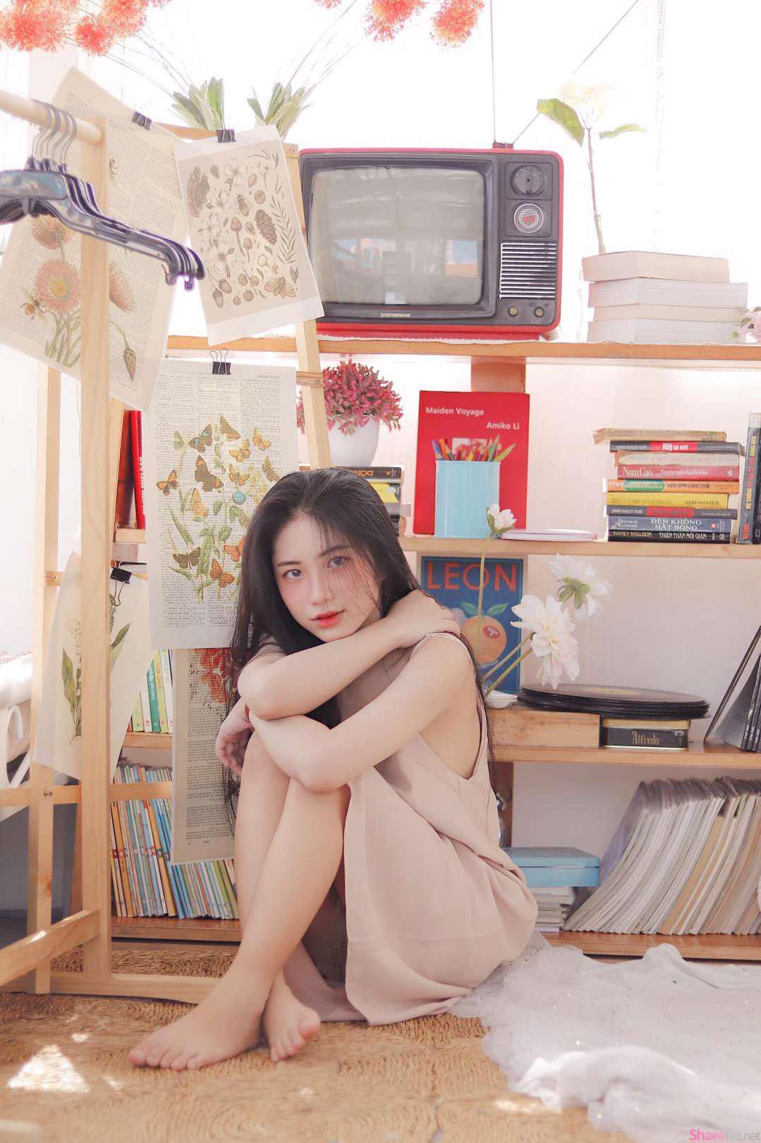 越南妹子,大学生清纯唯美风格插图(5)