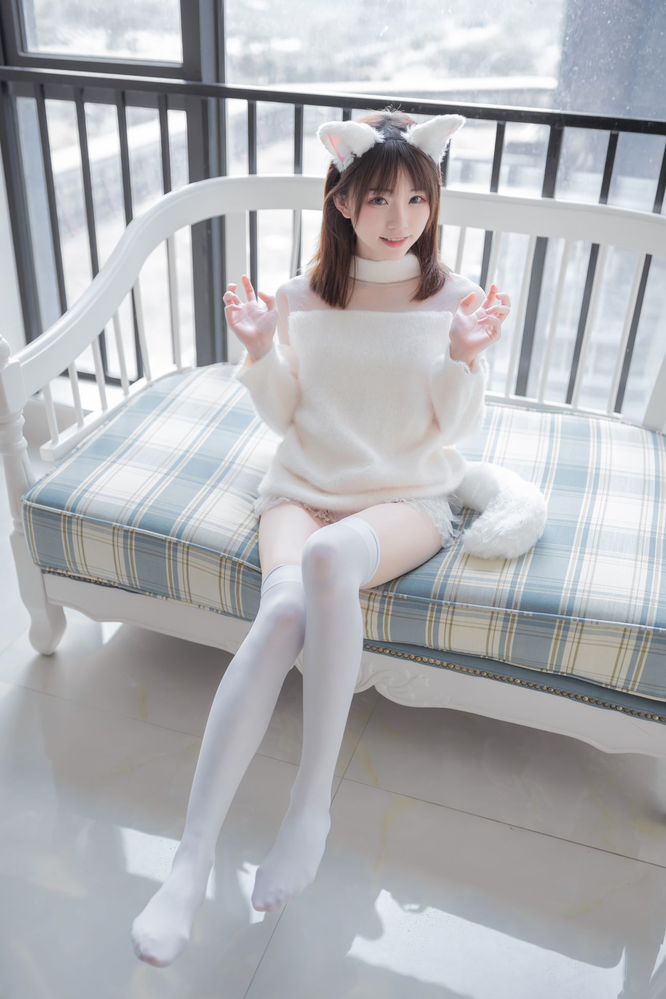 Kitaro绮太郎白喵女友