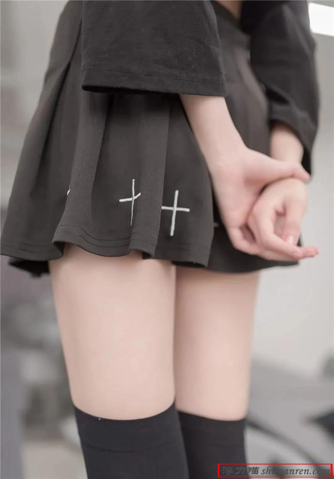 美少女, 灰色丝袜, 大长美腿