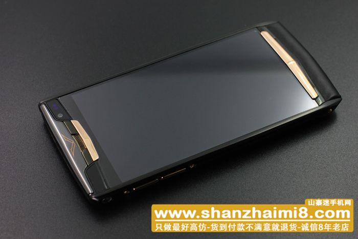 新款威图手机New Touch 【黑金】【真皮】
