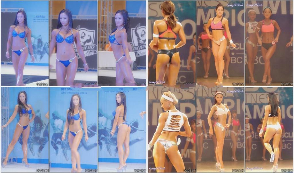 [饭拍秀]2016至今韩国各类车展车模VS比基尼模特VS健美比赛最全BT种子合集[52/BT]