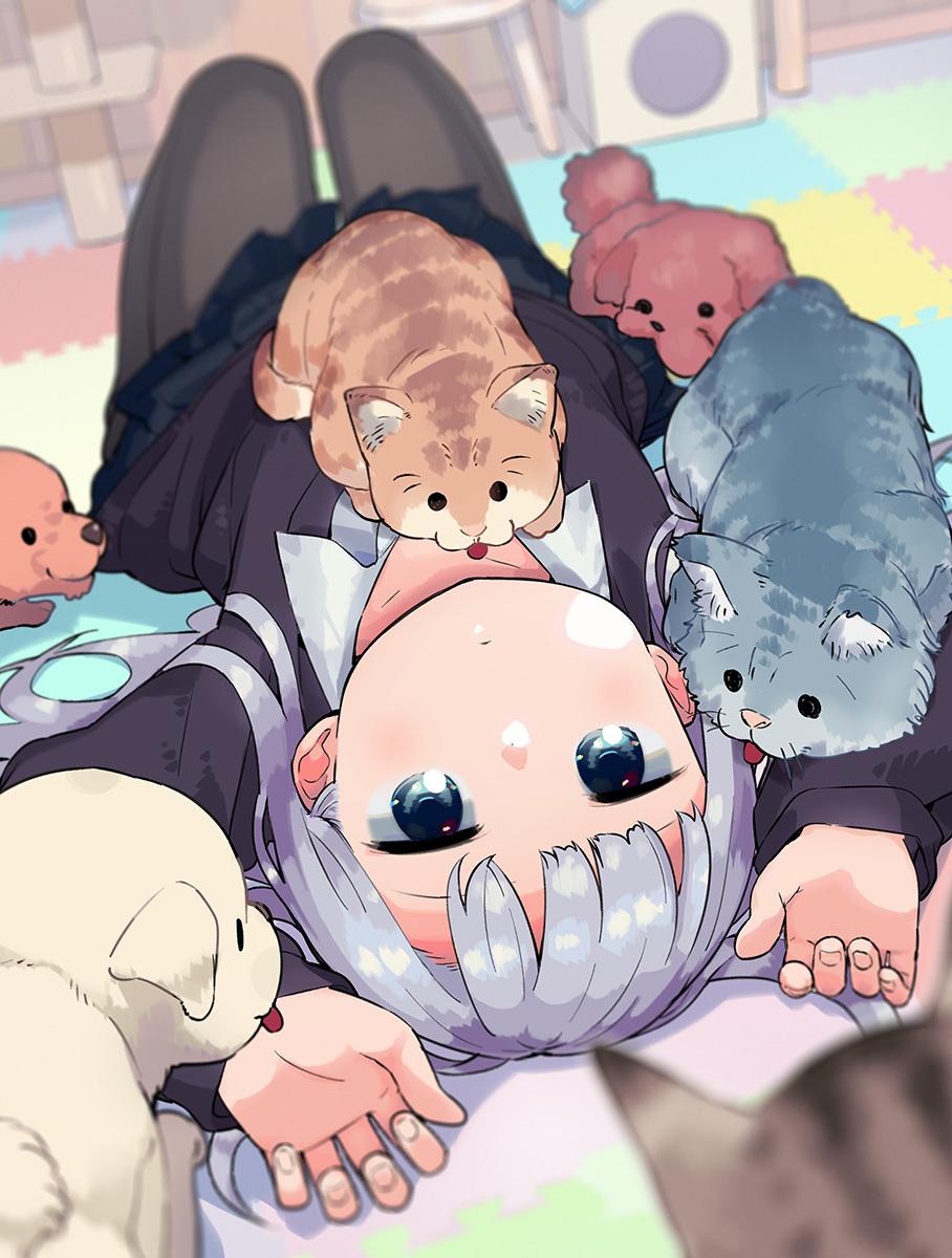 【动漫画作师】软绵绵的香甜萌妹子!岛国画作师水あさと的插画作品,动漫画作师