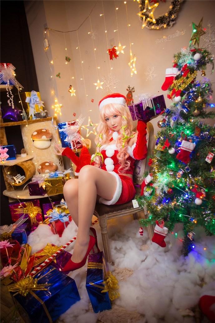 爱吃糖果的圣诞小萝莉 少女二次元