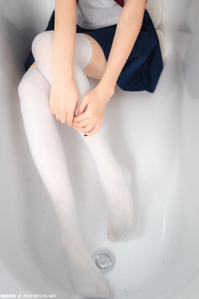 瞄糖映画 VOL-012 长发 JK 白丝少女制服 清纯丝袜