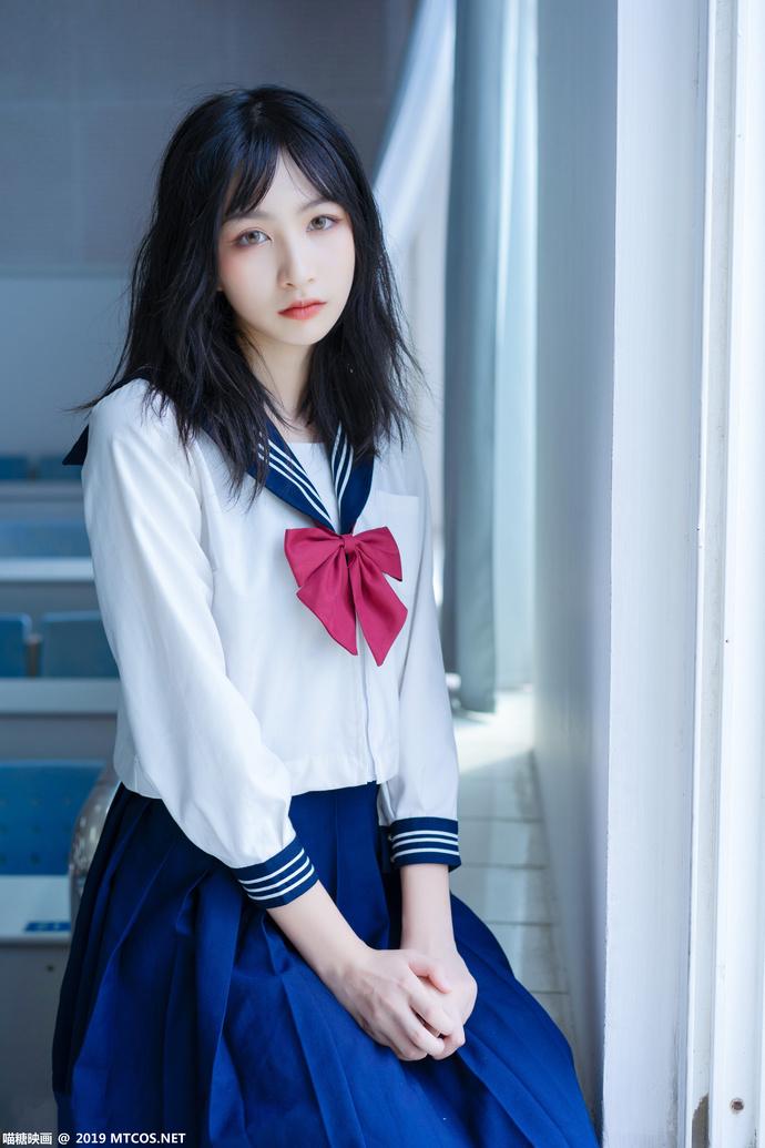 瞄糖映画 VOL-014 日系 JK 制服少女写真 中日妹子