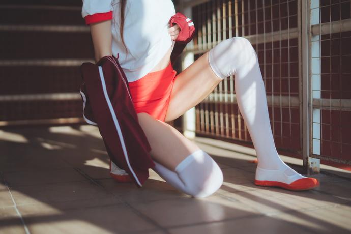 桜桃喵 030 妹妹练功穿的体操服 清纯丝袜