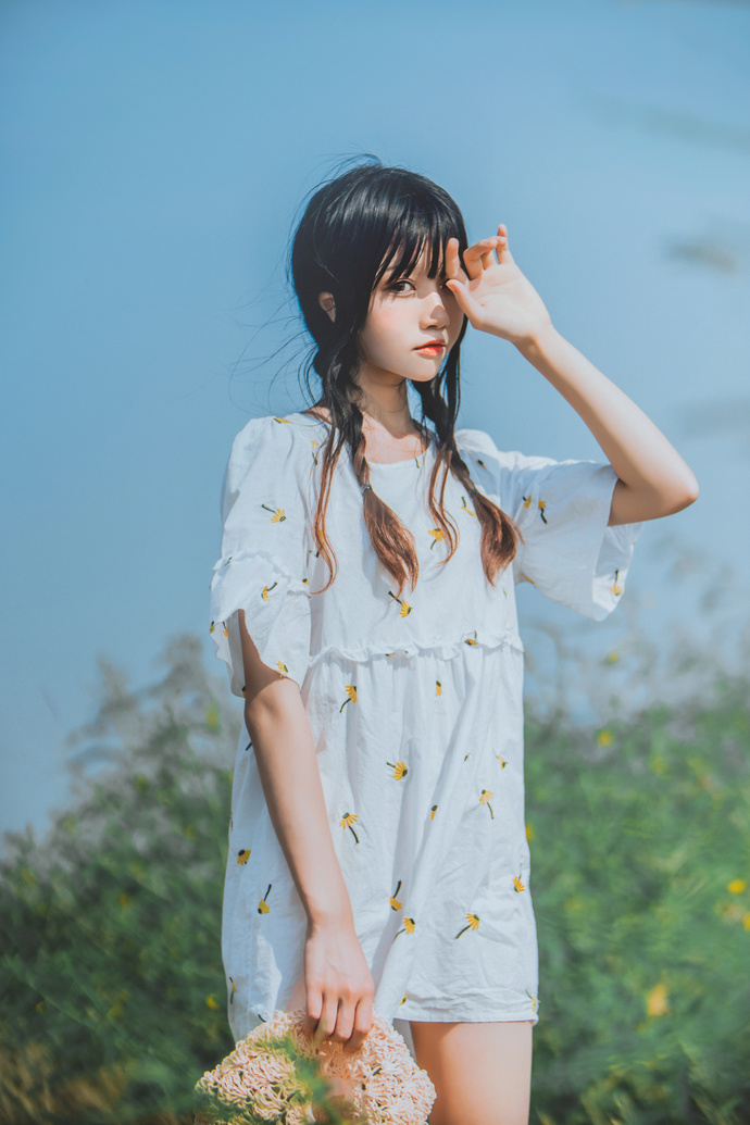 桜桃喵 032 在希望的田野上 中日妹子