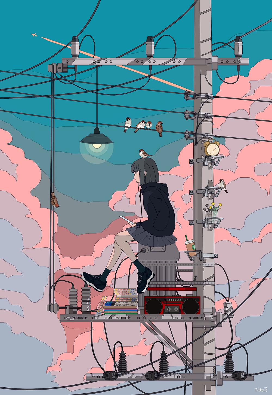【P站精品画师】令人感到惊艳的绘画风格!P站日本画师推荐-四斋社