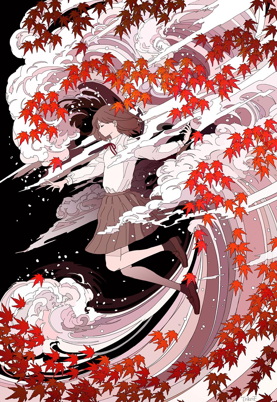 【P站精品画师】令人感到惊艳的绘画风格!P站日本画师推荐