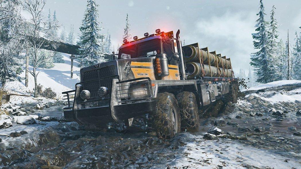 《雪地奔驰》游戏即将来袭!驾驶你的重型载具去征服极端环境!-四斋社