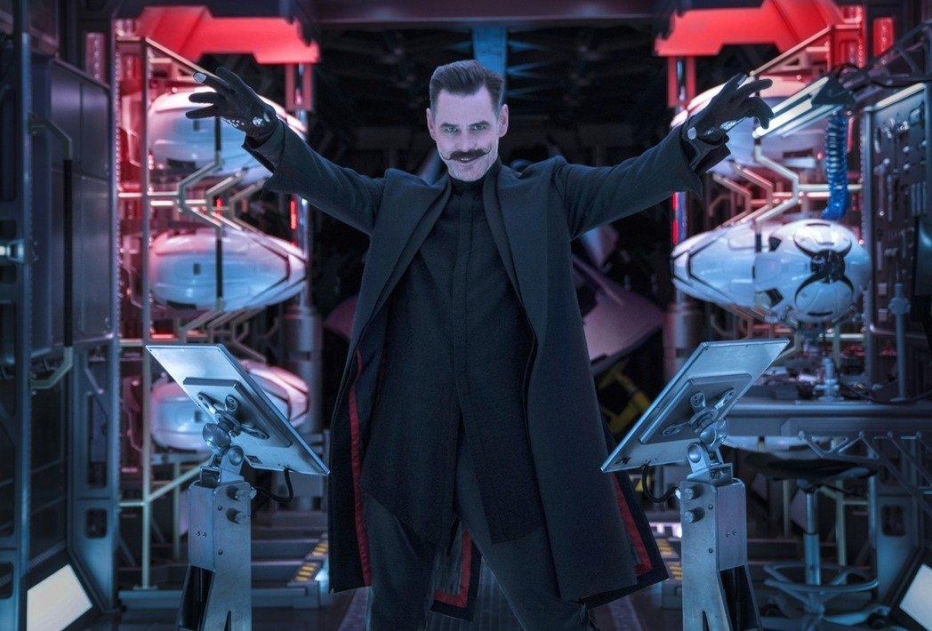 2020年最新电影《刺猬索尼克》大获成功!反派扮演者金凯瑞非常符合现代狂人形象!
