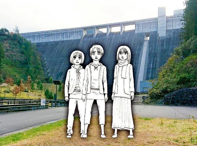 日本人气漫画《进击的巨人》主角团童年塑像将在作者谏山创故乡揭幕!