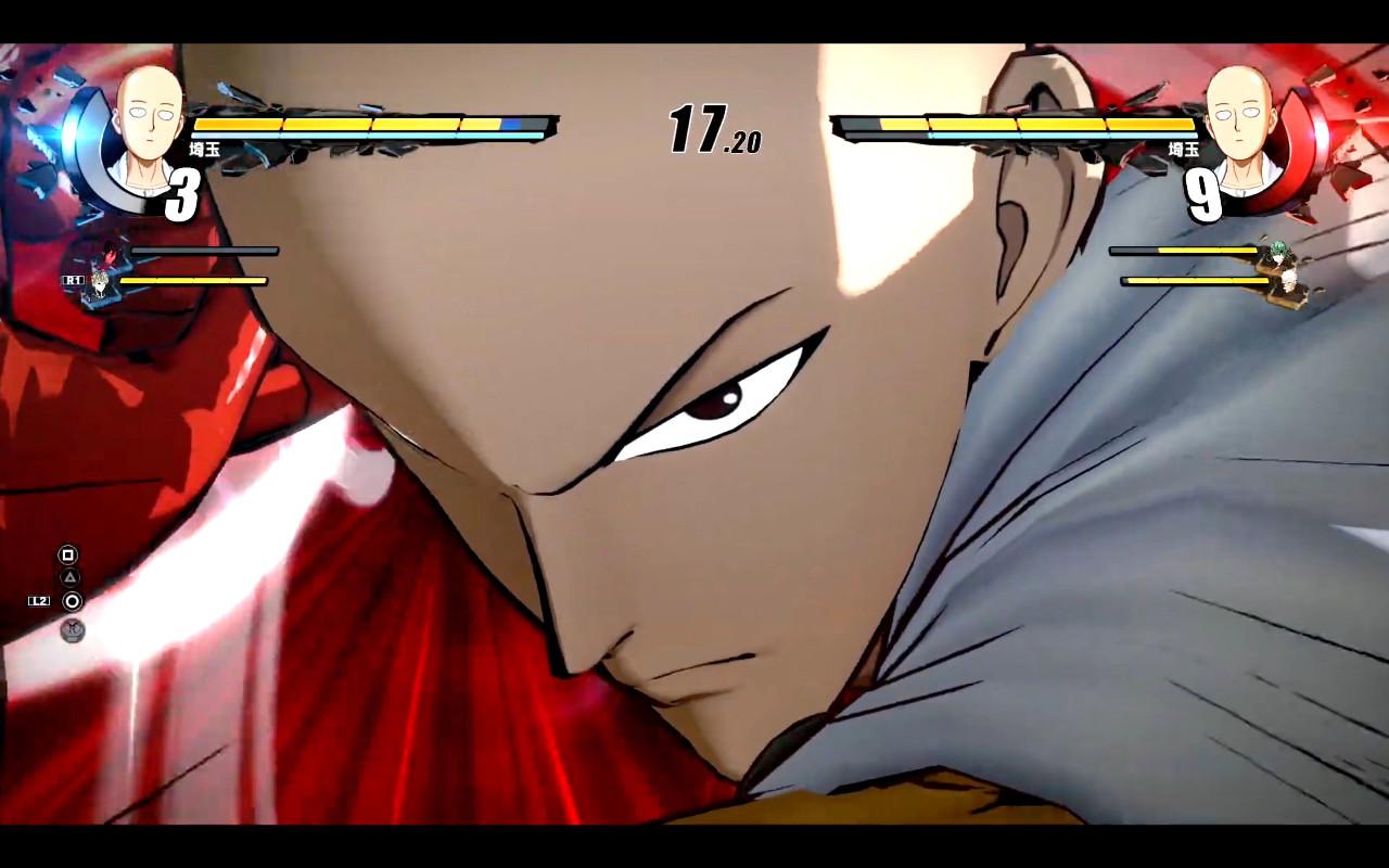 埼玉老师一拳赢得胜利!PS4游戏《一拳超人无名英雄》预告公布!