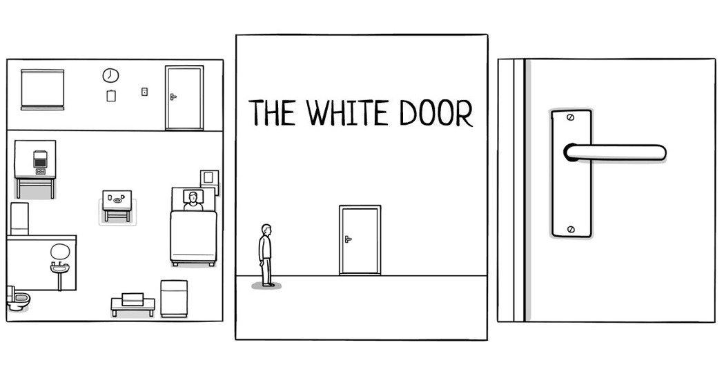 独立游戏《the white door下载》:风格非常简洁的解谜游戏!《the white door攻略》