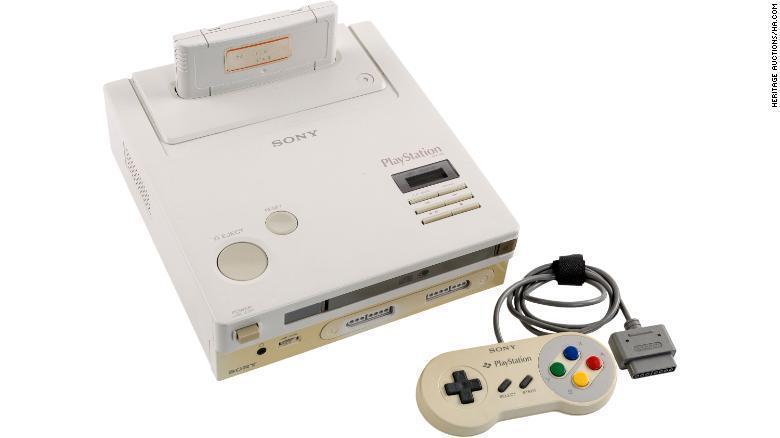 任天堂PlayStation原型机以36万美元的天价卖出!买家仍然感到满意!-四斋社