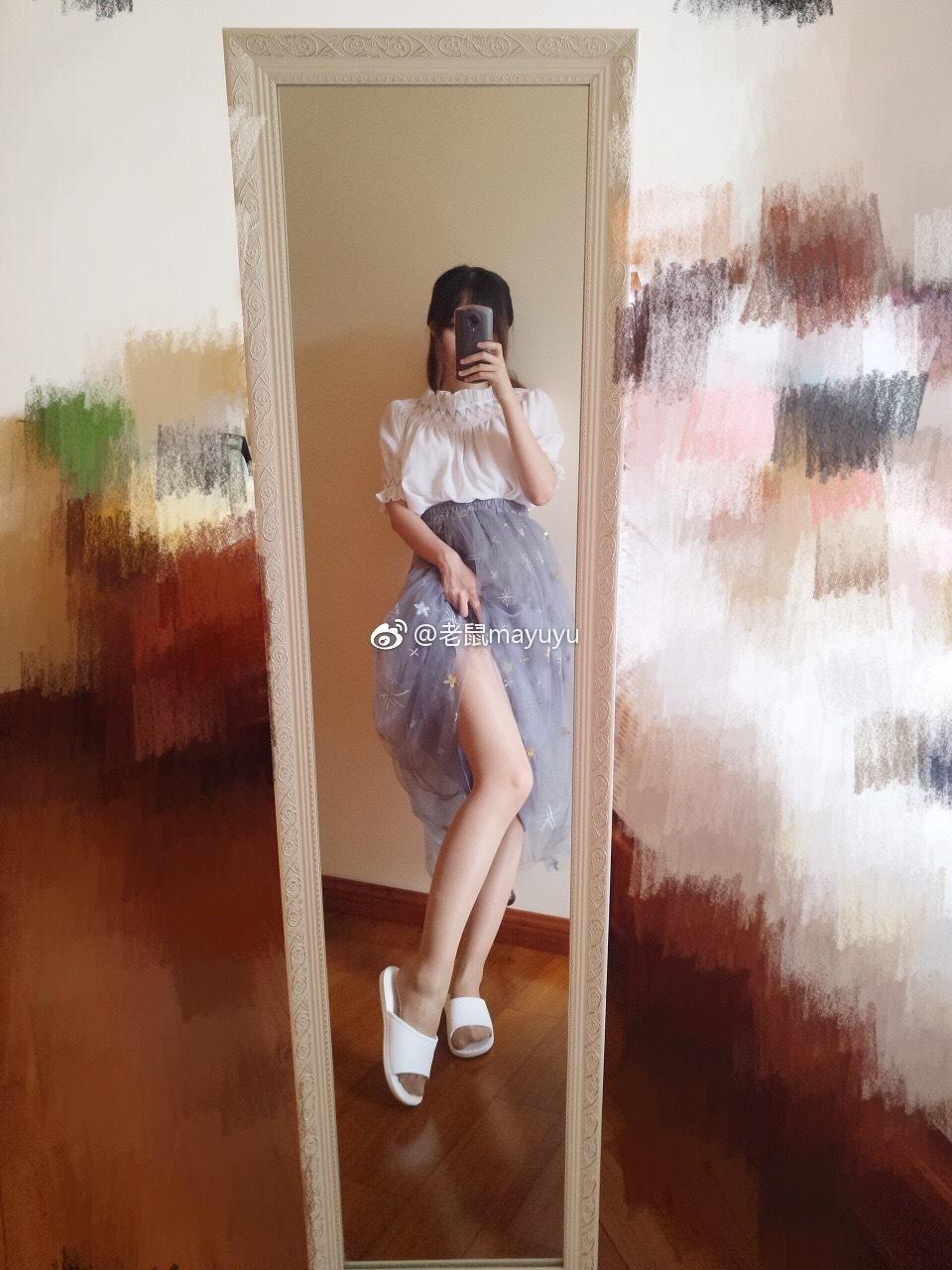【微博妹子图每日推荐】微博动漫博主@老鼠mayuyu删照片是什么?肤白貌美身材好,超喜欢这种可爱的小学妹