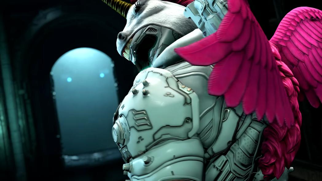 《毁灭战士永恒发售时间是什么时候》毁灭战士永恒可以拥有粉红独角兽皮肤!-四斋社