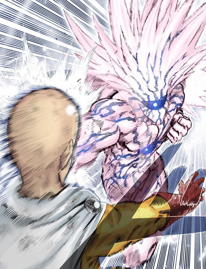 日本人气漫画一拳超人最新争论:一拳超人波罗斯和饿狼打起来的话,谁更强?