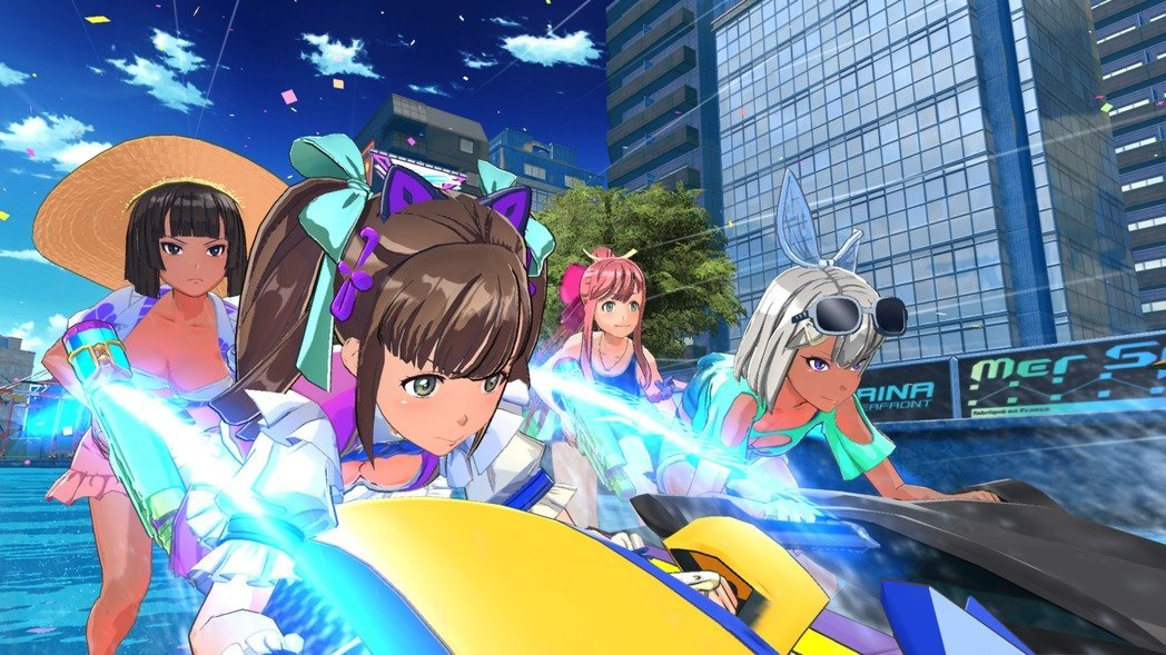 PS4中文绅士游戏《神田川jet girls》今日上市!更有八名闪乱神乐角色任你挑