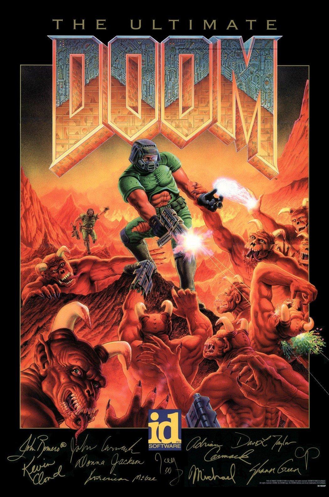 经典FPS游戏《毁灭战士》的那些事儿:两个叫约翰的游戏制作人的故事!