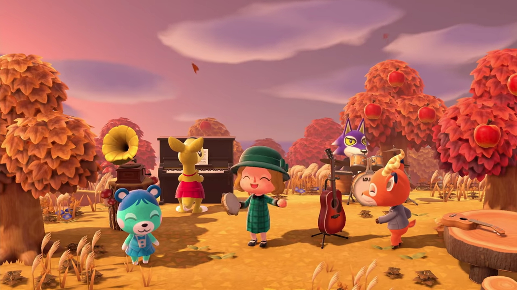 Switch游戏《动物之森》系列最新作品《集合啦!动物之森》评测:任天堂的无限魅力!