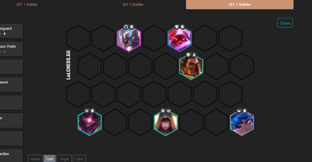 英雄联盟战棋模式《云顶之弈》第三季阵容推荐!