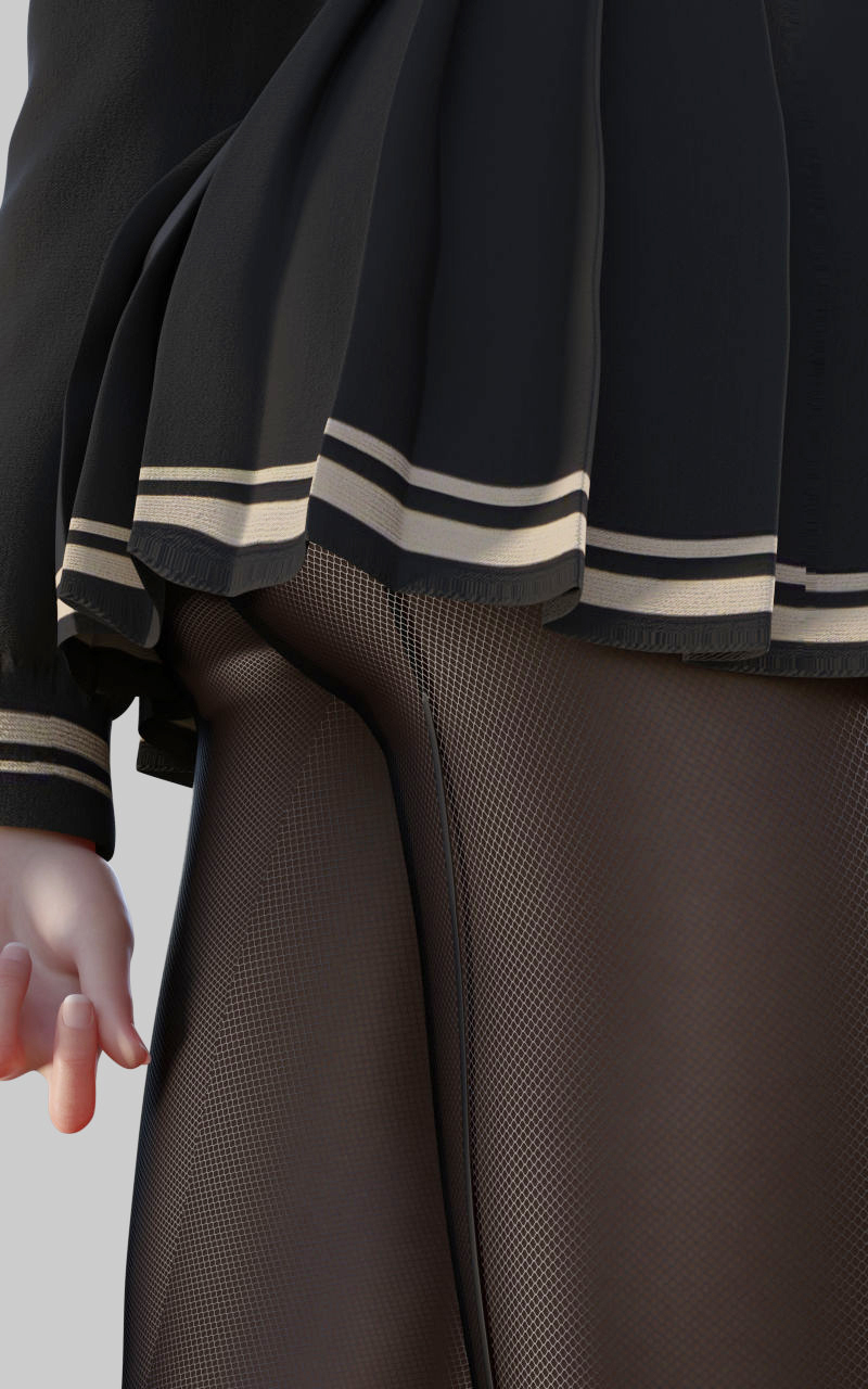 【Pixiv站精品画师推荐】P站黑色丝袜让人欲罢不能!日本P站画师digiplant的插画作品!P站id:digiplant