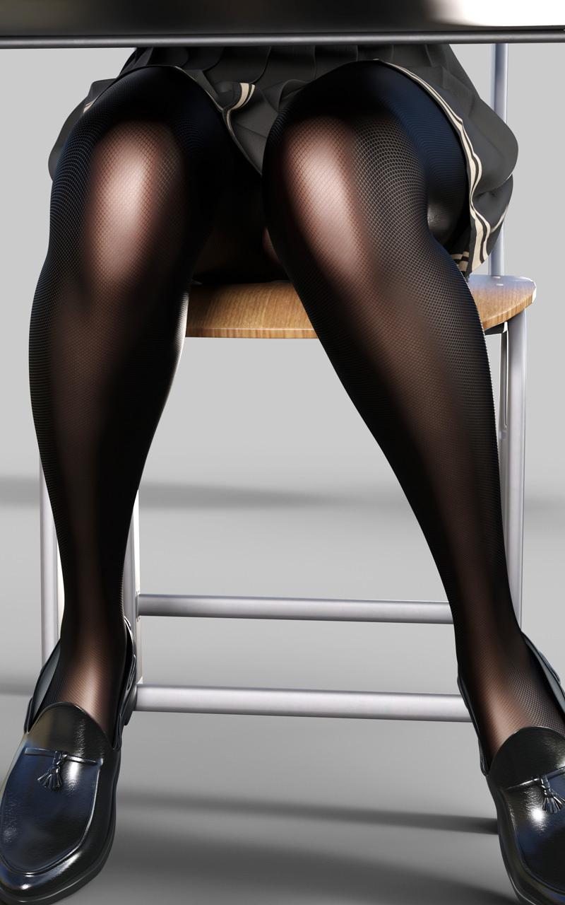 【Pixiv站精品画师推荐】P站黑色丝袜让人欲罢不能!日本P站画师digiplant的插画作品!P站id:digiplant-四斋社