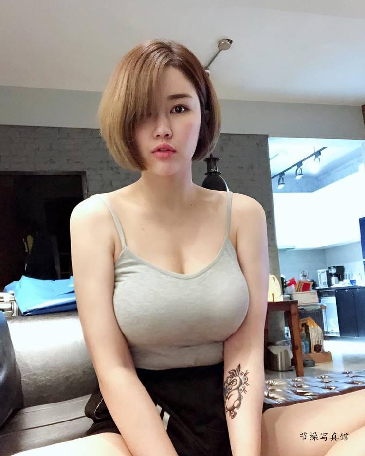 性感模特@黄米可Miko甜美笑容下的狂辣曲线惹人爱 节操写真馆 热图2