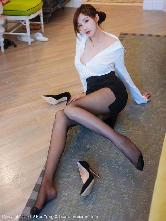 [HuaYang花漾]Vol.171 奶瓶土肥圆矮挫丑黑穷[56+1P403M]黑丝火辣性感婀娜身姿美女写真图集